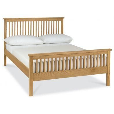 Bentley Designs  Atlanta Oak High Foot End Bed Frame